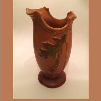 Weller Deco Autumn Oak Leaves Vase