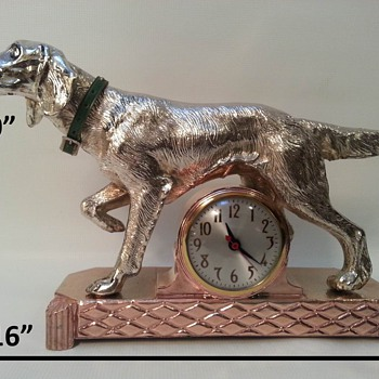 Sessions Golden Retriever Mantle Clock - Clocks