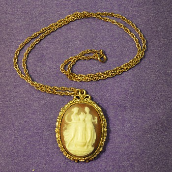 Perfume Pendant from my Great-Grandma - Costume Jewelry