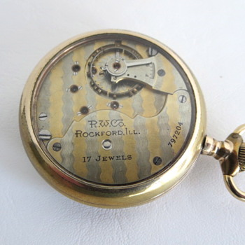 Rockford Display Case - Pocket Watches