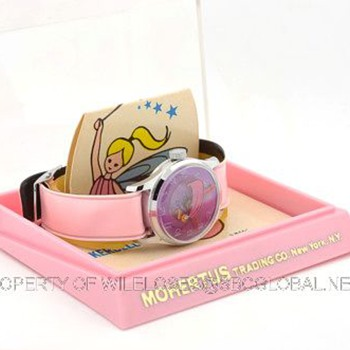 c.1969 Tinkerbell watch by Rouan / Mohertus Trading in Box - Wristwatches