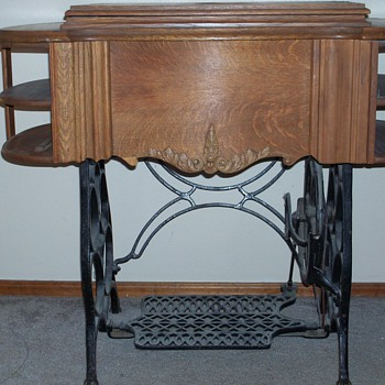 Rose City Treadle Machine Can not find anything about this mode;