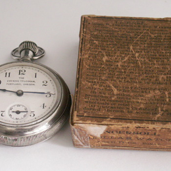 Ingersoll, The Evening Telegram, Portland, Oregon - Pocket Watches