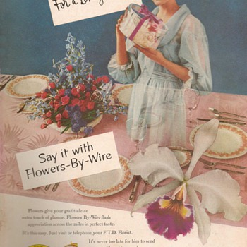 1953 - FTD Florists Advertisement - Advertising