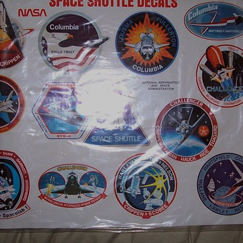 some of my space shuttle collection