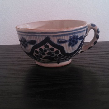 Can anyone identify the age of this Uriarte Talavera Cup? - Native American