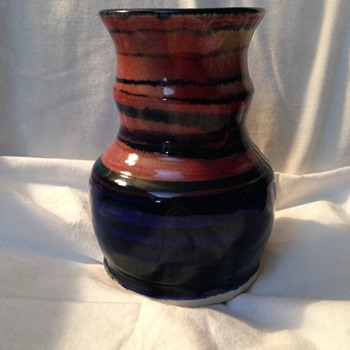 Steve Sides signed Vase - Art Pottery