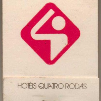 Hotel Quatro Rodas (Brazil) - Matchbook - Advertising