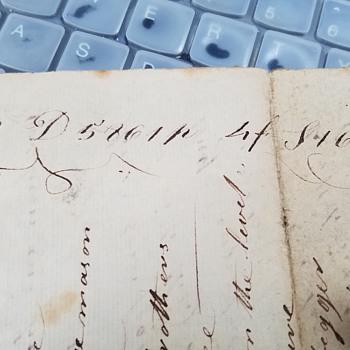 1700s Masonic Code? - Paper