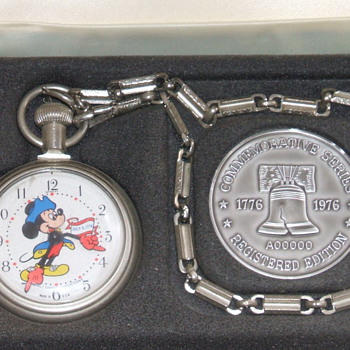 1976 Bicentennial Mickey - Pocket Watches