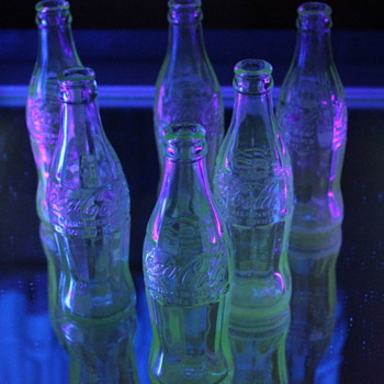 Old Coke bottles I found - Coca-Cola