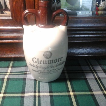 Glenmore Straight Bourbon jug - Bottles