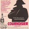 1954 Courvoisier Advertisement