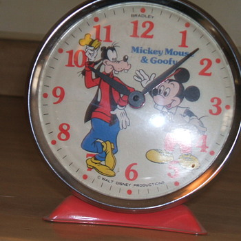 Bradley Mickey and Goofy Alarm - Clocks