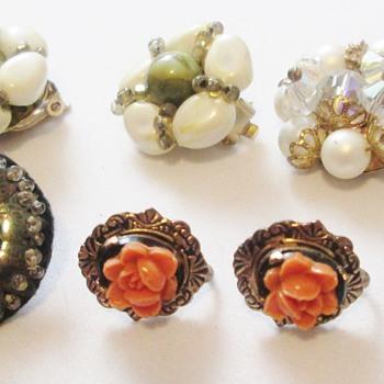 Bag of earrings for two bucks - Costume Jewelry