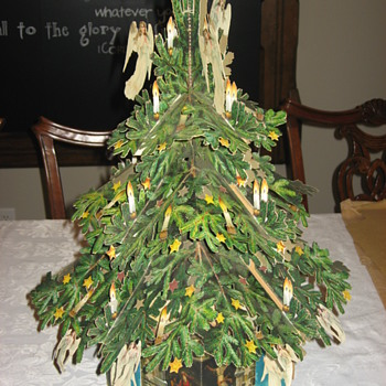 Fold-out Christmas Tree - Christmas