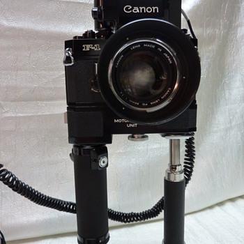 1971 Canon F-1 - Cameras