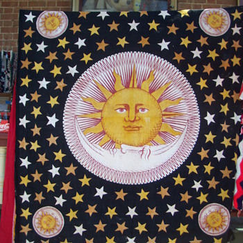 Sun And Stars linen ? - Rugs and Textiles