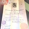 1922 Diplomatic Finnish passport