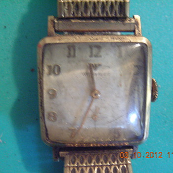 Vintage Wittnauer men's wrist watch