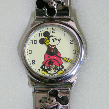 Bradford Mint Replica 1933 Mickey Mouse Watch - Wristwatches