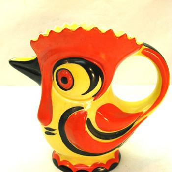 CZECH POTTERY: ERPHILA ROOSTER, UNEXPECTED INFO. - Art Pottery