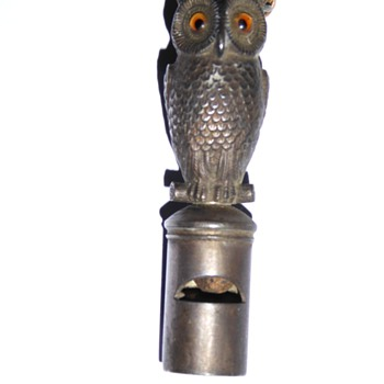 My Mordan owl wistle pencil ,neat little item
