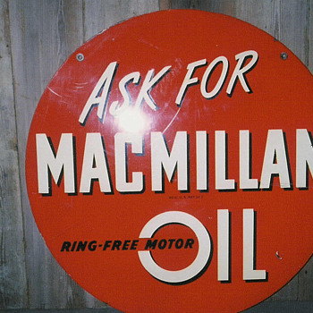 "macmillan 30"" sign"