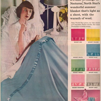 1950 North Star Blankets Advertisements