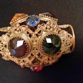small jeweled lamp shade