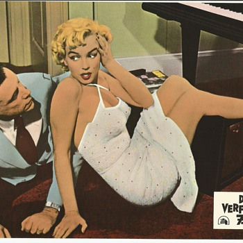 Seven Year Itch German Lobby Cards - Movies