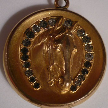 Lovely old Locket with Baby Pictures