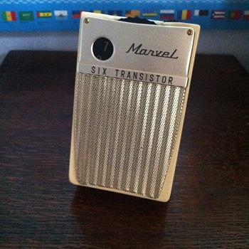 Marvel Six Transistor radio. - Radios