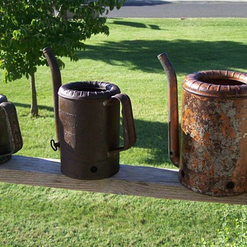 Vintage SwingSpout Oil Cans! - Petroliana