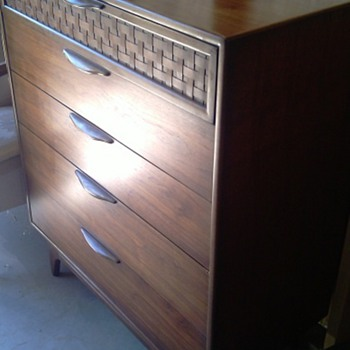 Mid Century Lane Tallboy Dresser