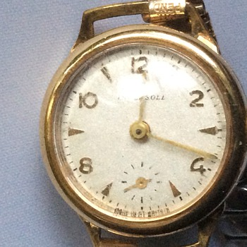 Early Ingersoll watch