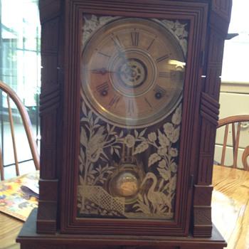 Gilbert parlor clock - Clocks