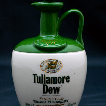 Tullamore Dew Whiskey Crock/Jug 1990's