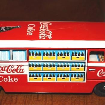 1960's Taiyo Japan Coca Cola van - Coca-Cola