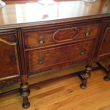 Early Credenza with Brass Pulls - Year?  - Furniture