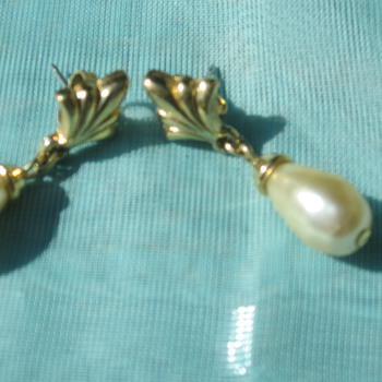Pearl & gold earrings - Fine Jewelry