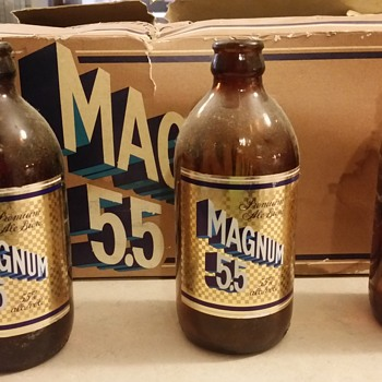 Magnum 5.5 The best beer ever.