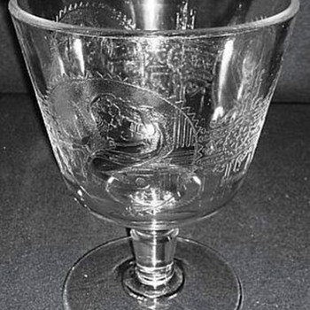 Psyche & Cupid Pattern, Is It A Goblet or What? - Glassware