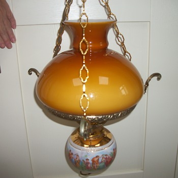 My grandparents light fitting - Lamps
