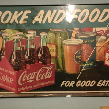 old coke poster dated 1953? - Coca-Cola
