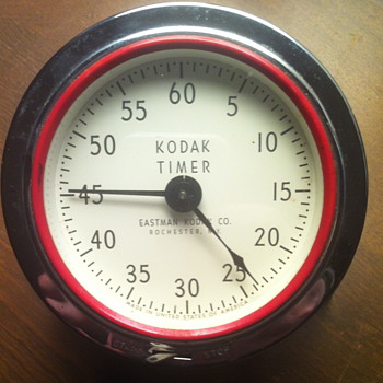 Kodak Timer. Eastman Kodak Co. Clock.