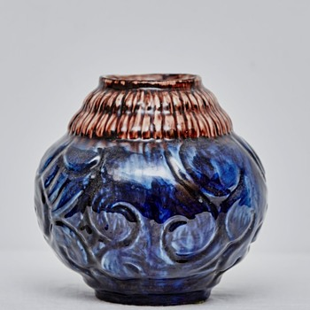 Bulbous Vase from Roskilde Pottery (Denmark), 1917-1921 - Art Pottery