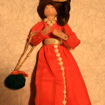 Wooden Peg Doll