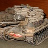 M48A3 Tank Model With Sandbags 1/35 Scale