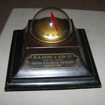 Vintage Thermo Vane Thermometer, Brooklyn NY - Office
